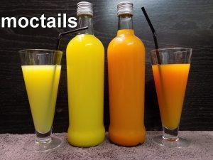 zonder alcohol op basis van kiwi en sinaasappel